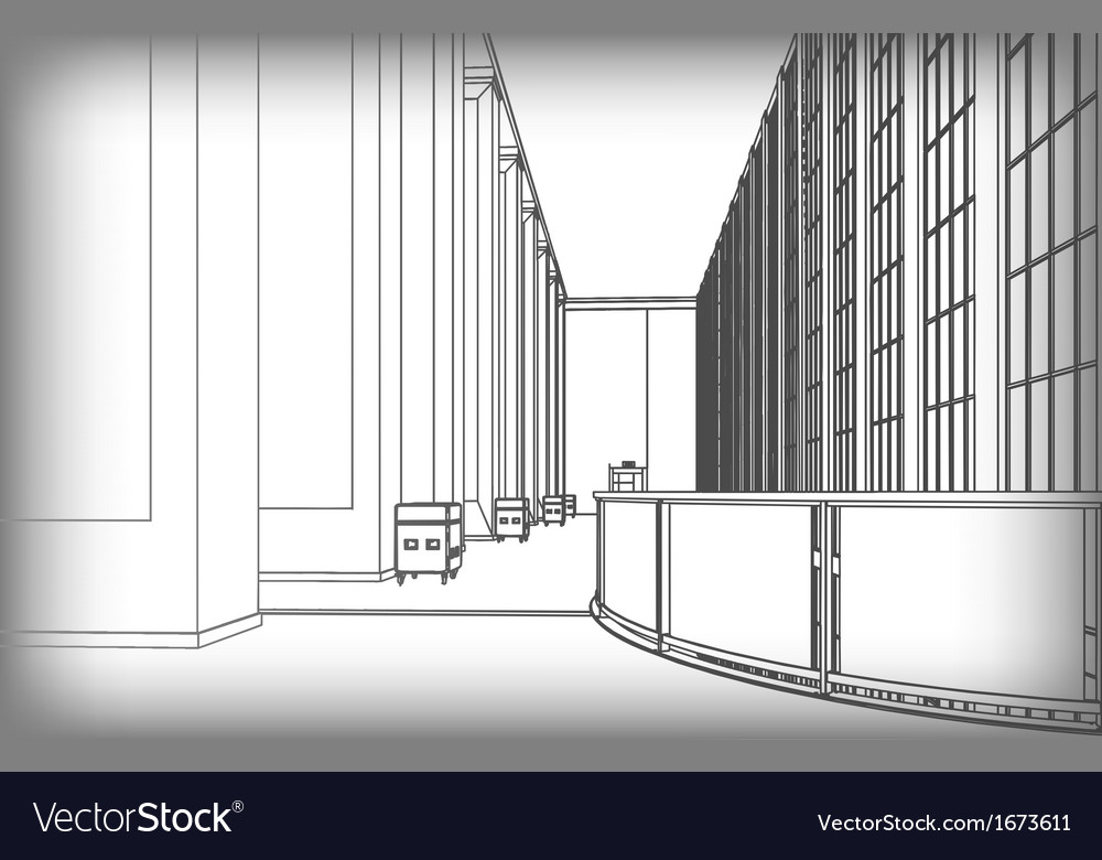 Architectural structure of buildings
