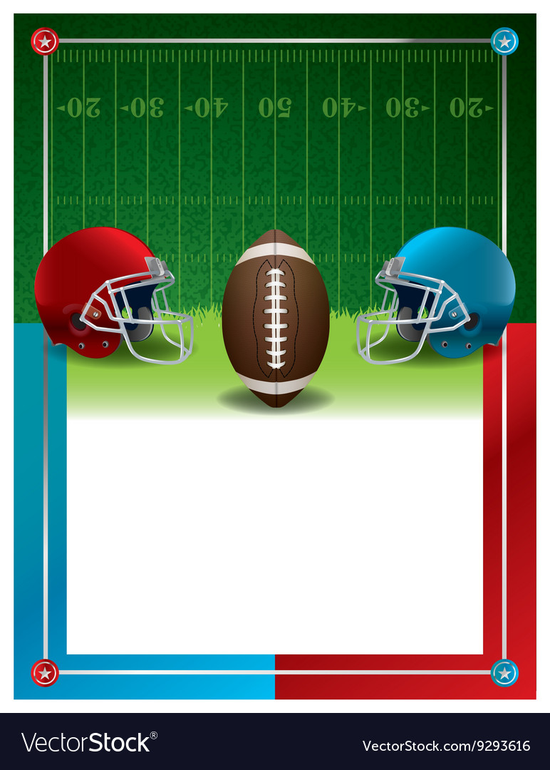 American Football Party Template