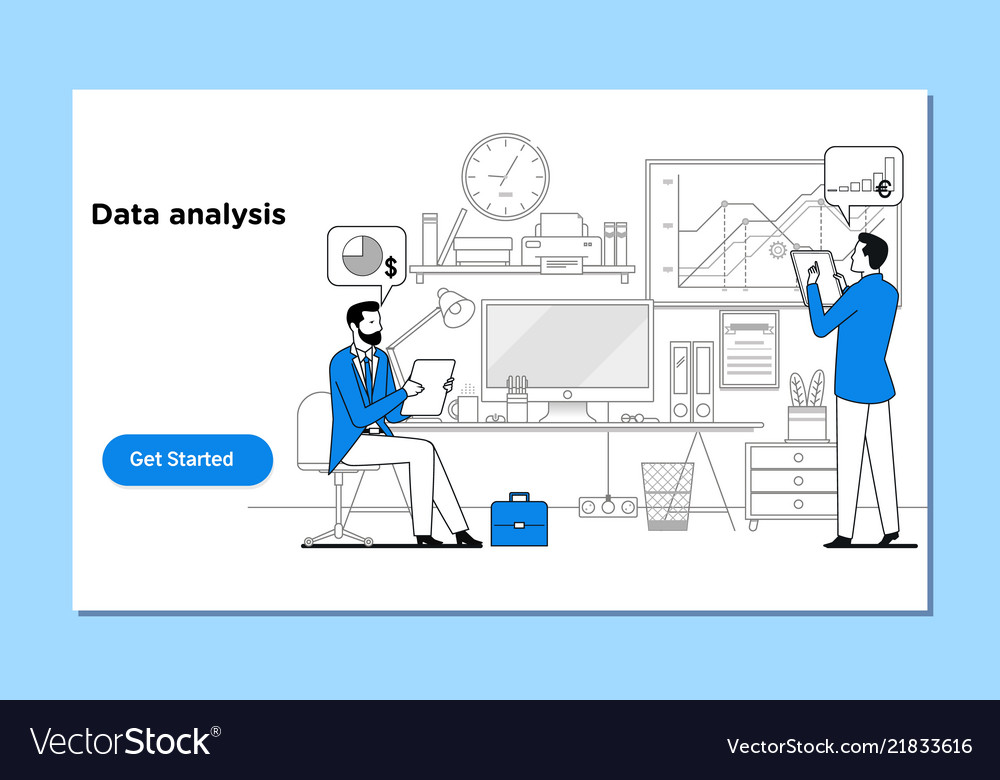 Concept data analysis for website and mobile