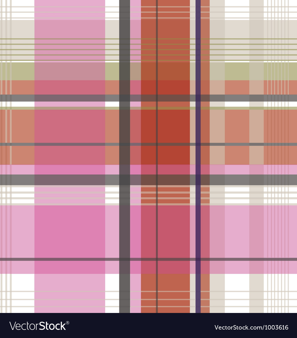 Plaid check fabric pattern