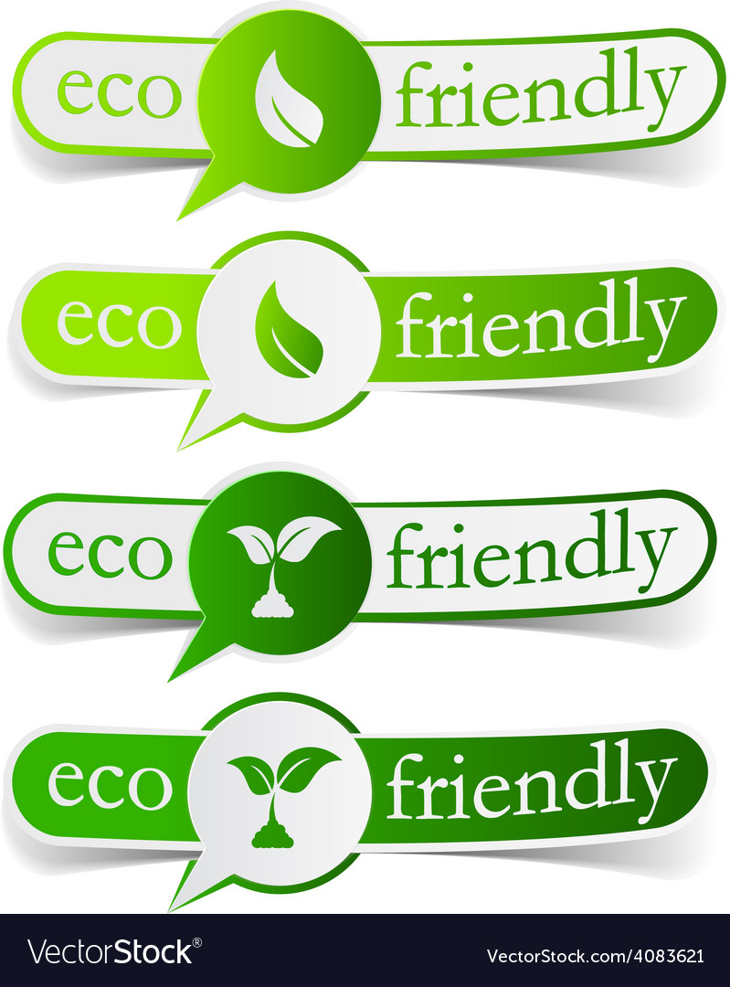 Eco friendly green tags