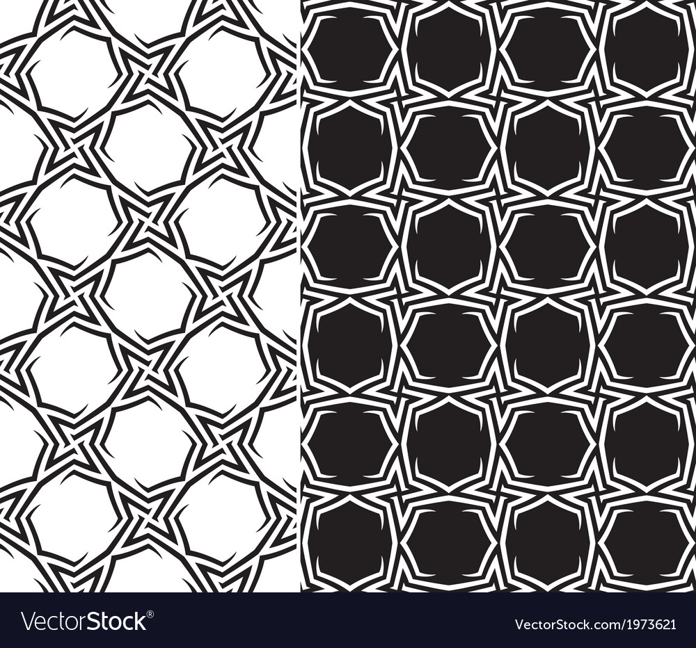 Starry Pattern vector image