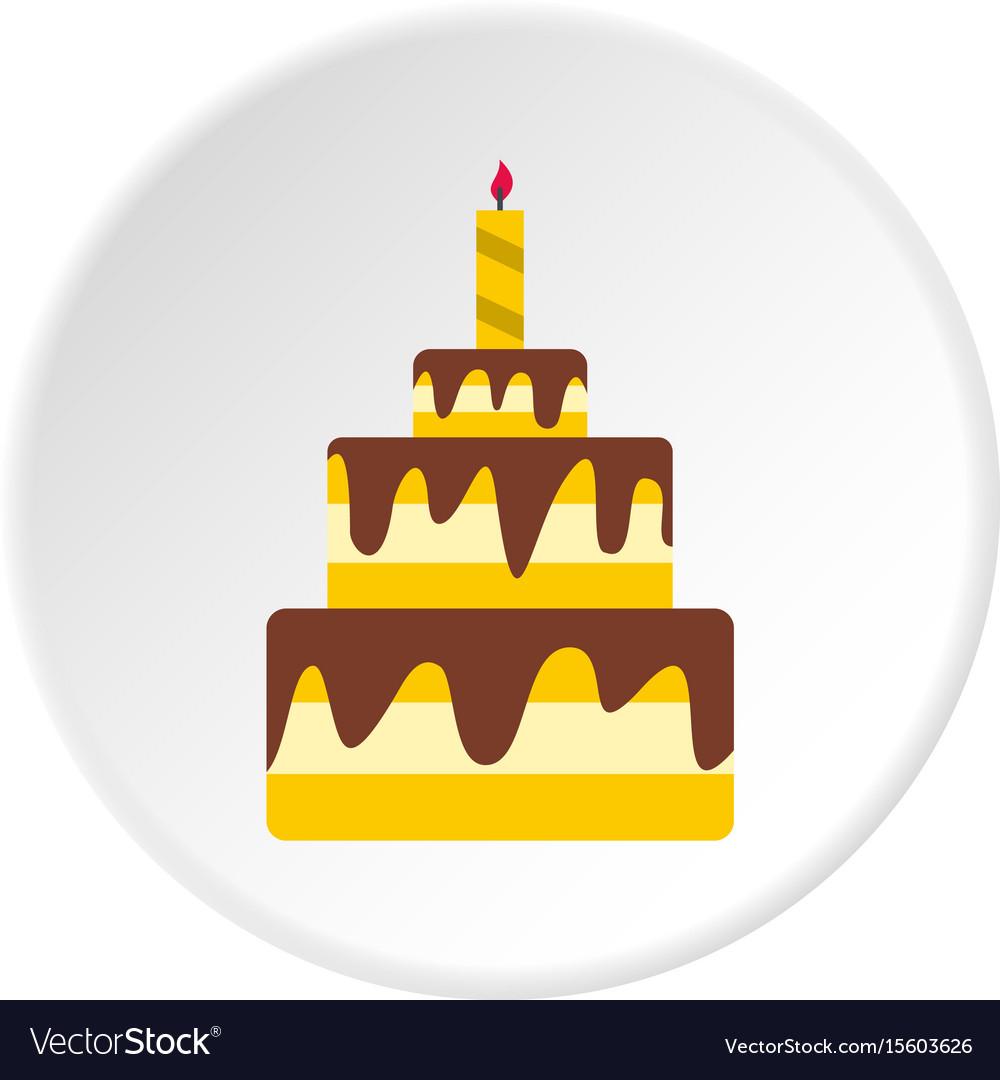 Cake icon circle