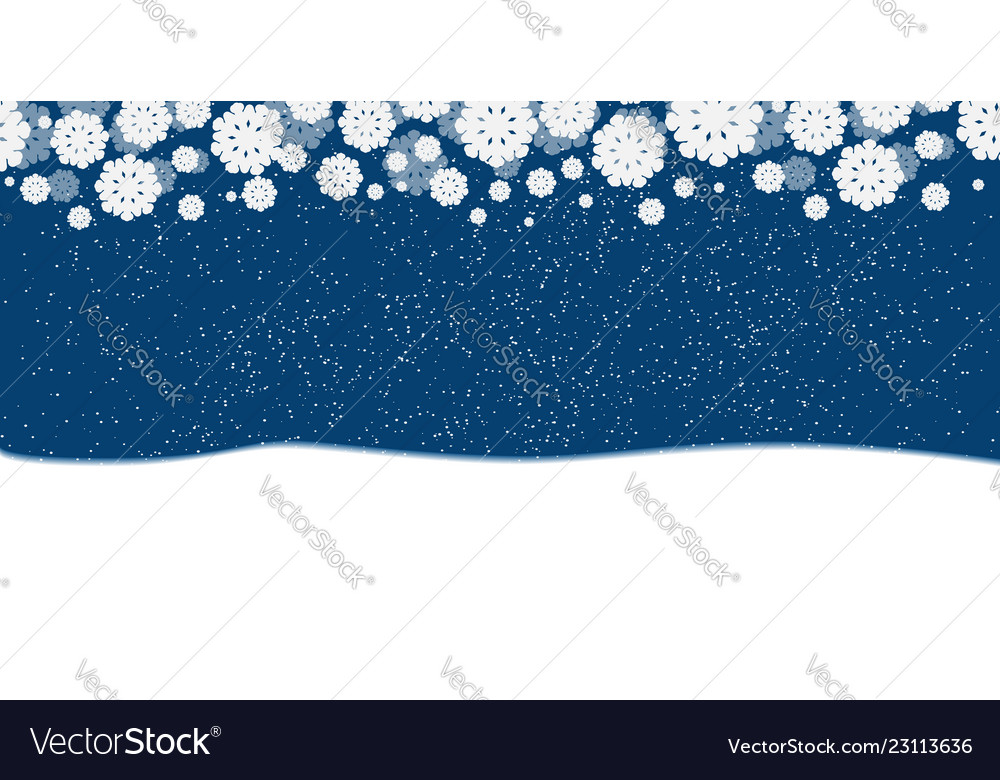 Blue new years christmas background with white