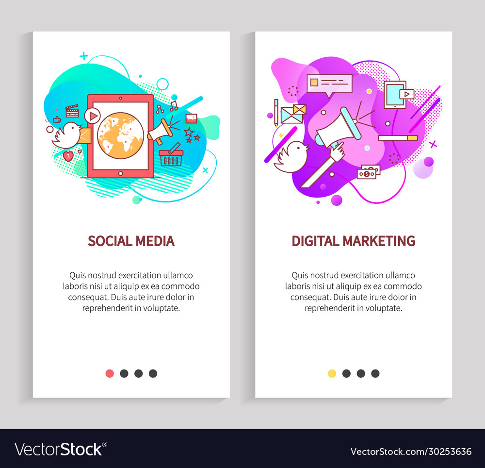 Design app slide online communication