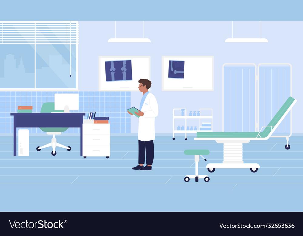 Hospital traumatology room