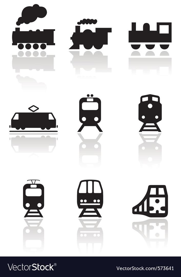 Rain symbol set