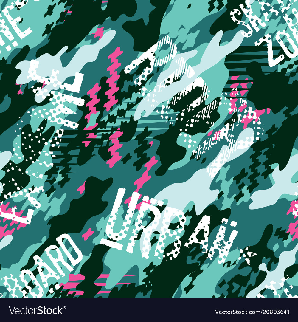 Urban rider abstract camouflage wallpaper