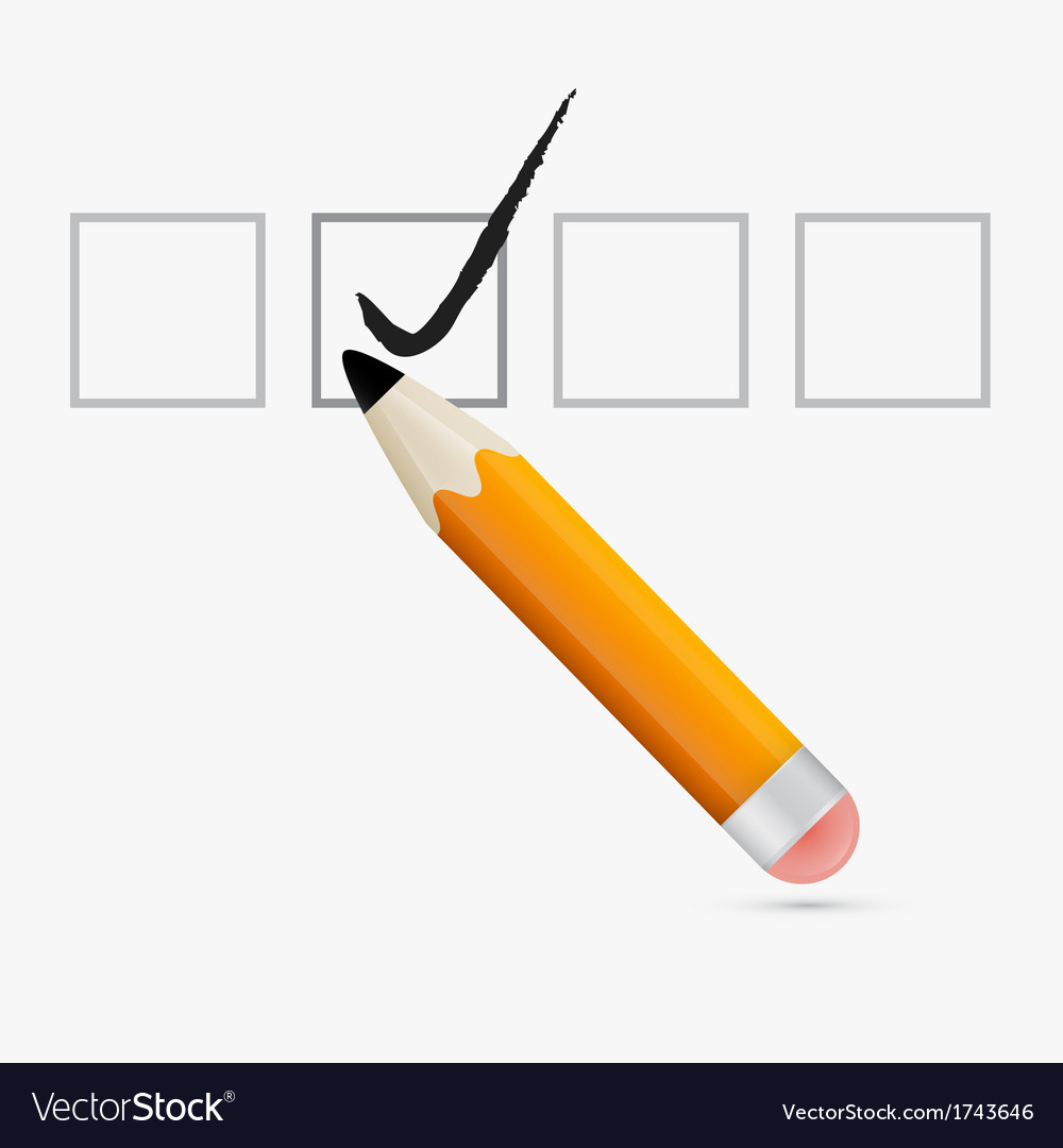 Pencil Check Option