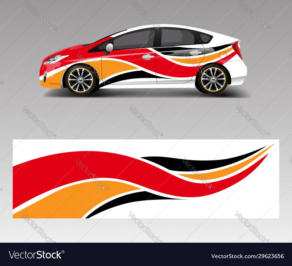 Car decal graphic wrap vinyl sticker graphic