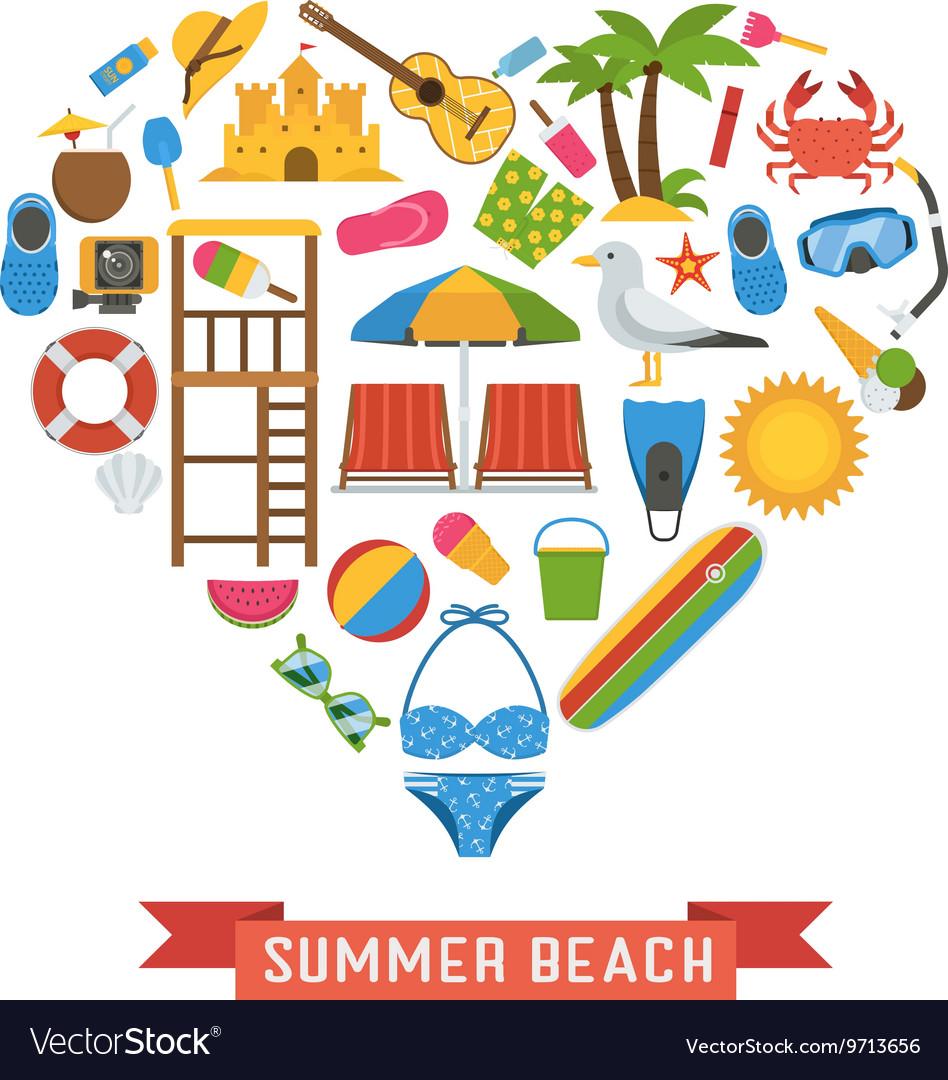 Love Summer Concept