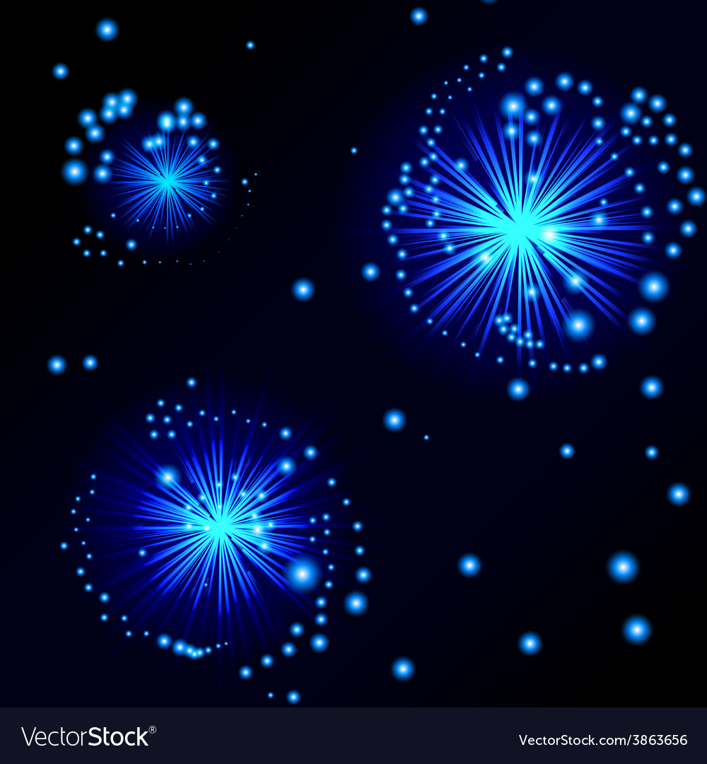 NightSky vector image
