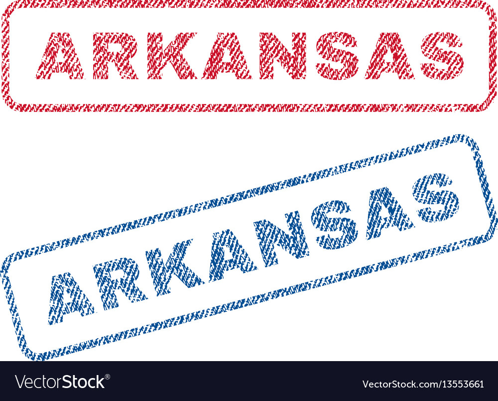 Arkansas textile stamps