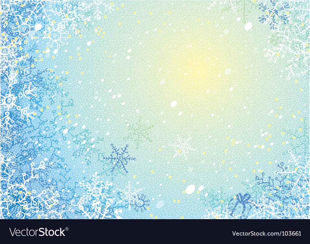 Frosty Background