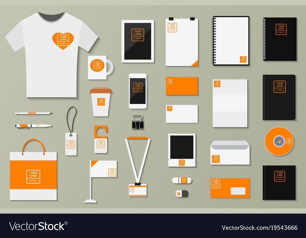 Brand Identity Template Set Business