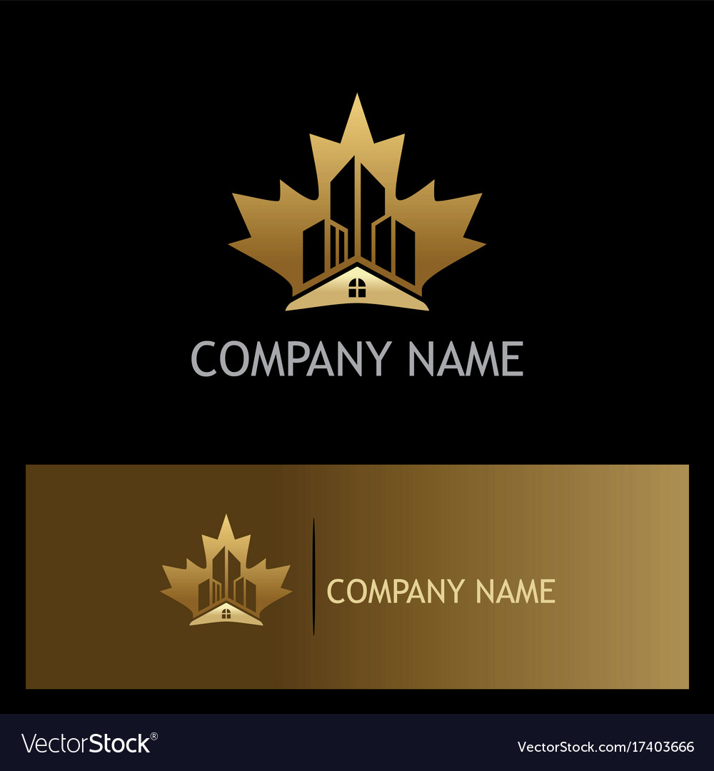 Home building canada gold logo