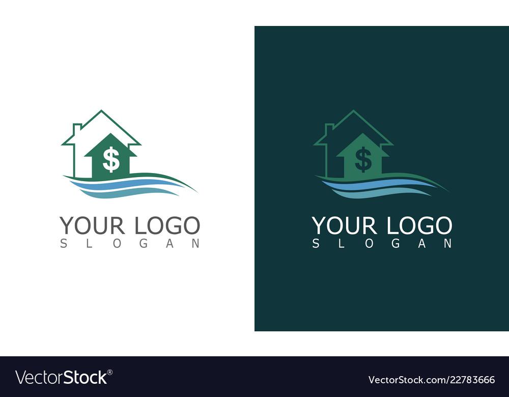 Home money wave logo