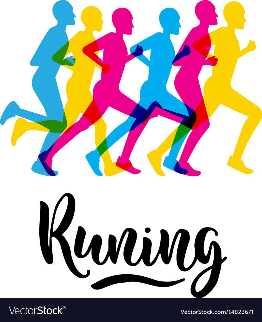 Logo sports running