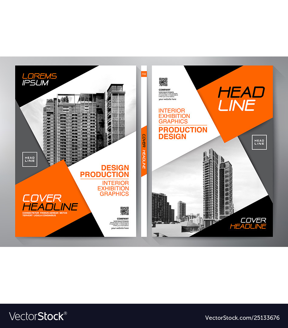 Business brochure flyer design leaflets a4