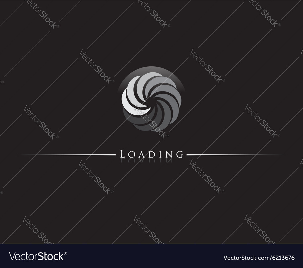 Loading icon vector image