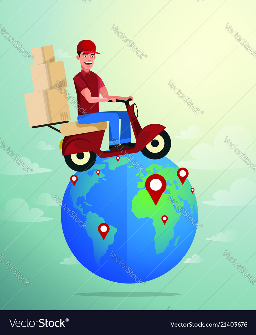 World wide delivery of