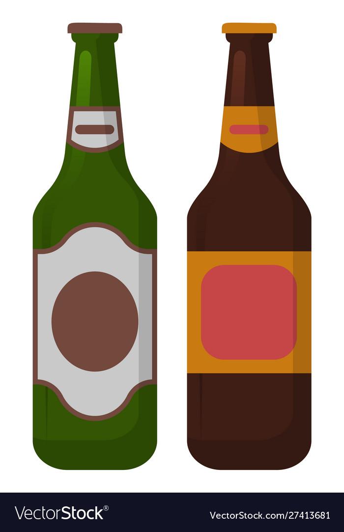 Alcohol beverage in bottle celebration
