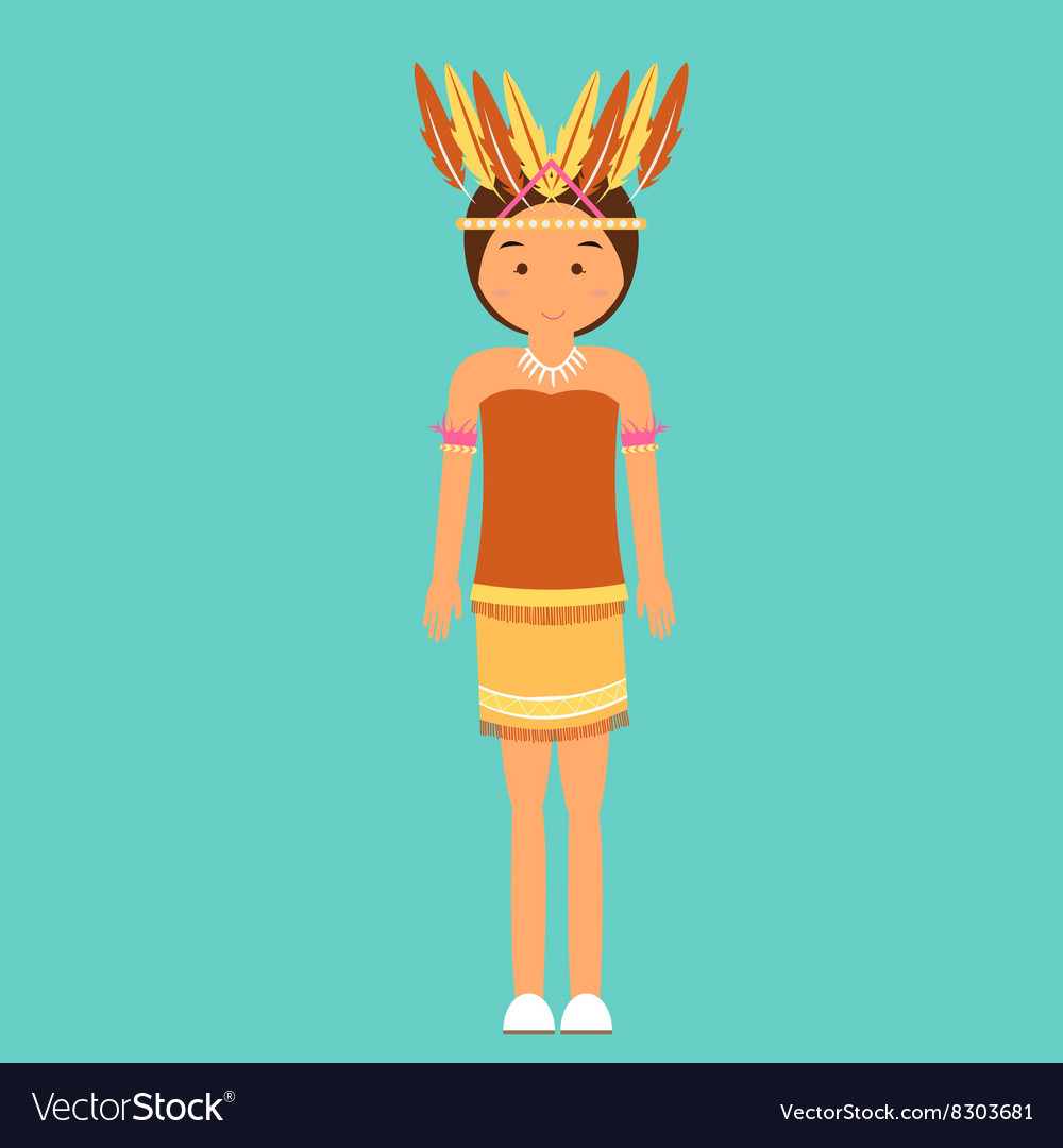 Indonesian traditional clothes woman dress irian