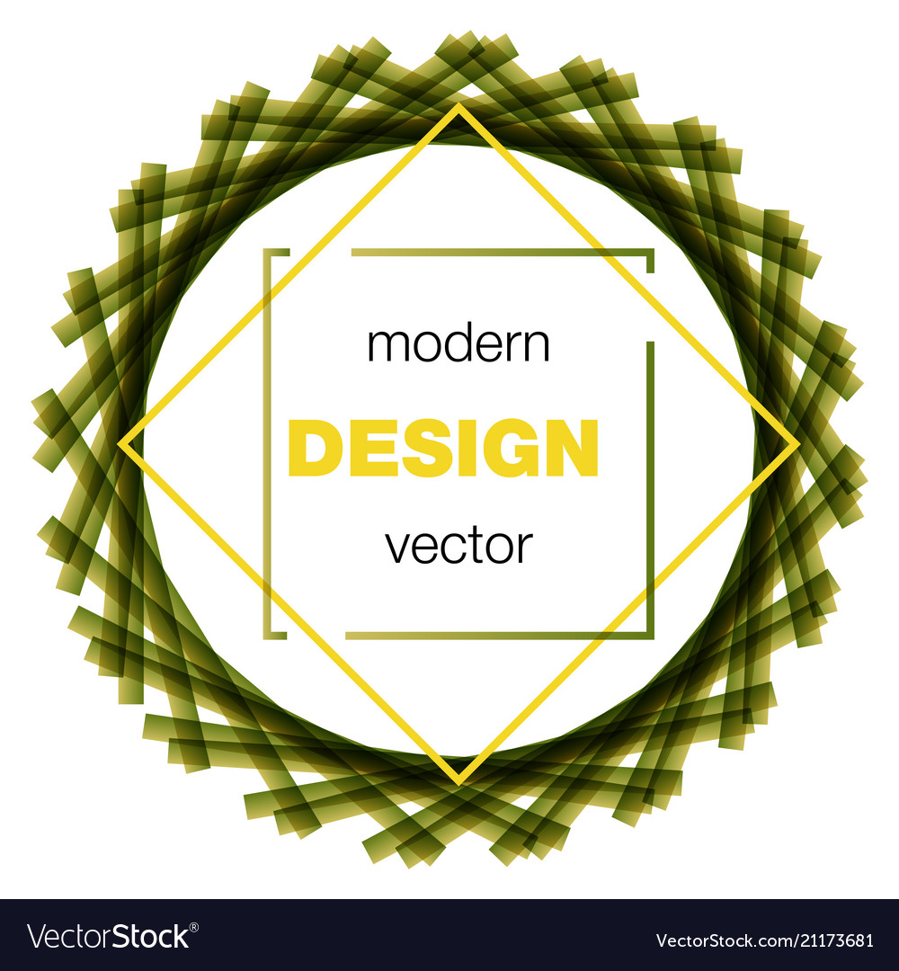 Modern icon design logo element with business