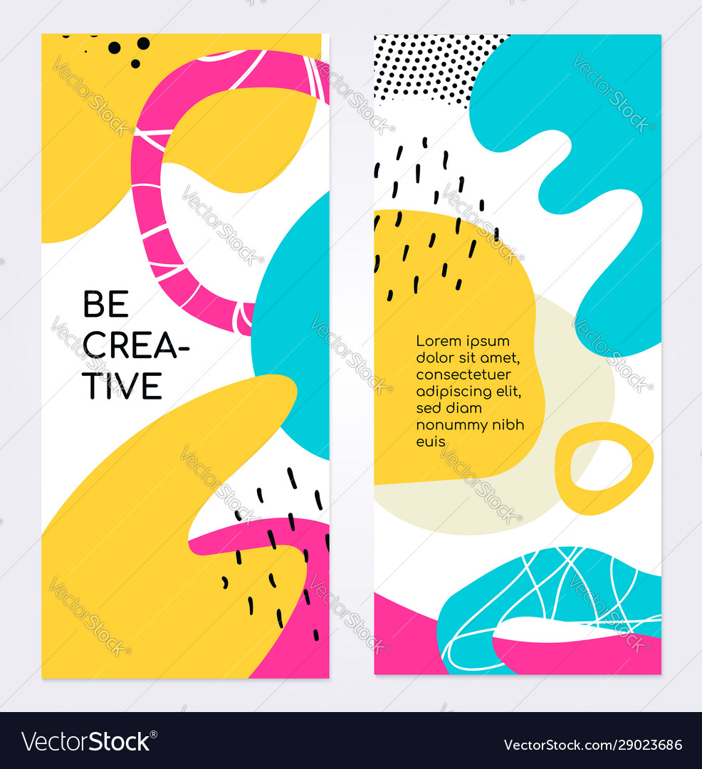 Be creative brochure flyer template