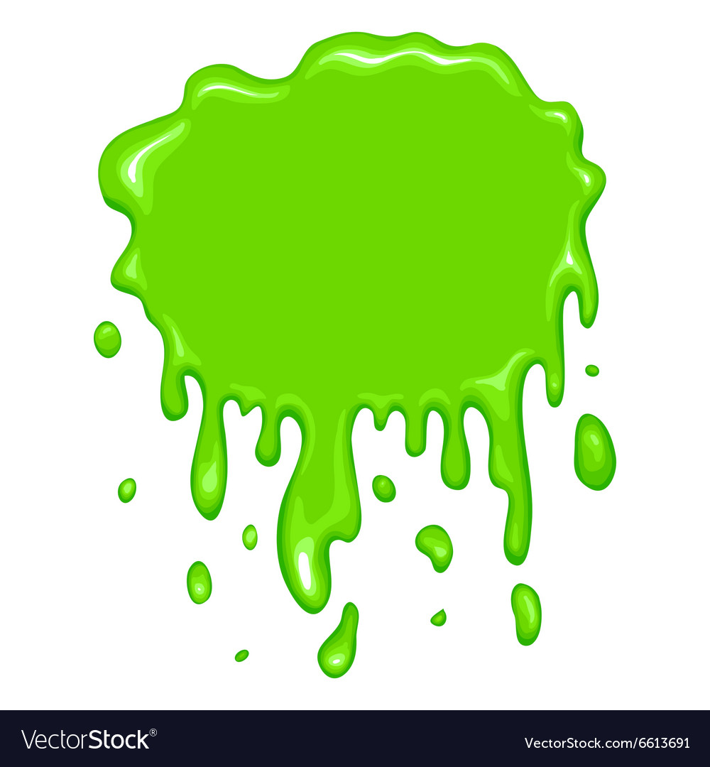 Best Green Slime Icon Royalty Free Vector Image