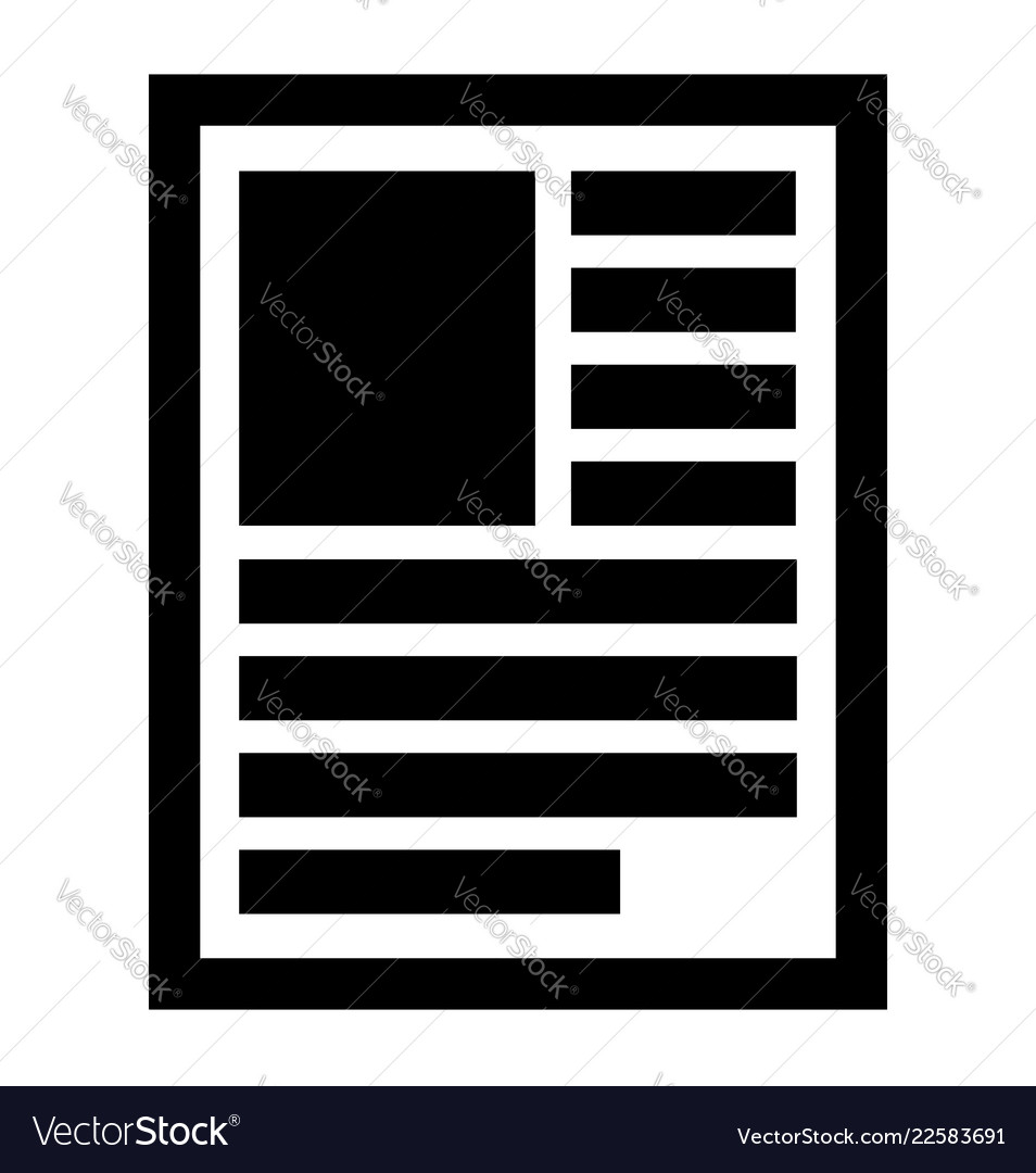 Document note book publication page symbol icon
