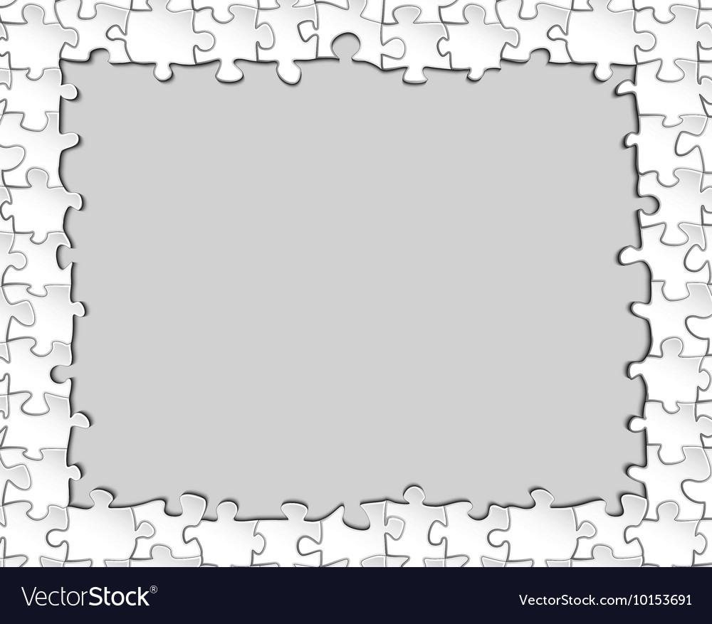 Puzzle, Pieces & Border Vector Images (46)