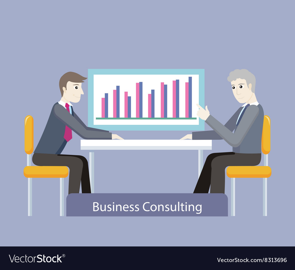 Business Consulting People on Negotiations