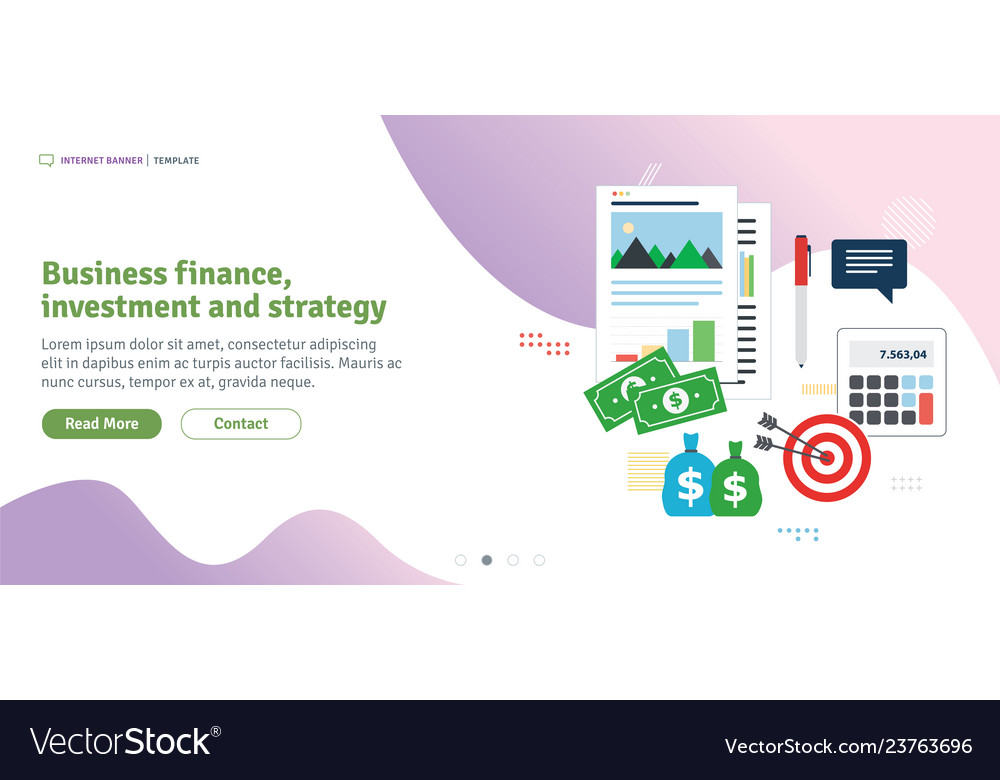 Business finance investment and strategy