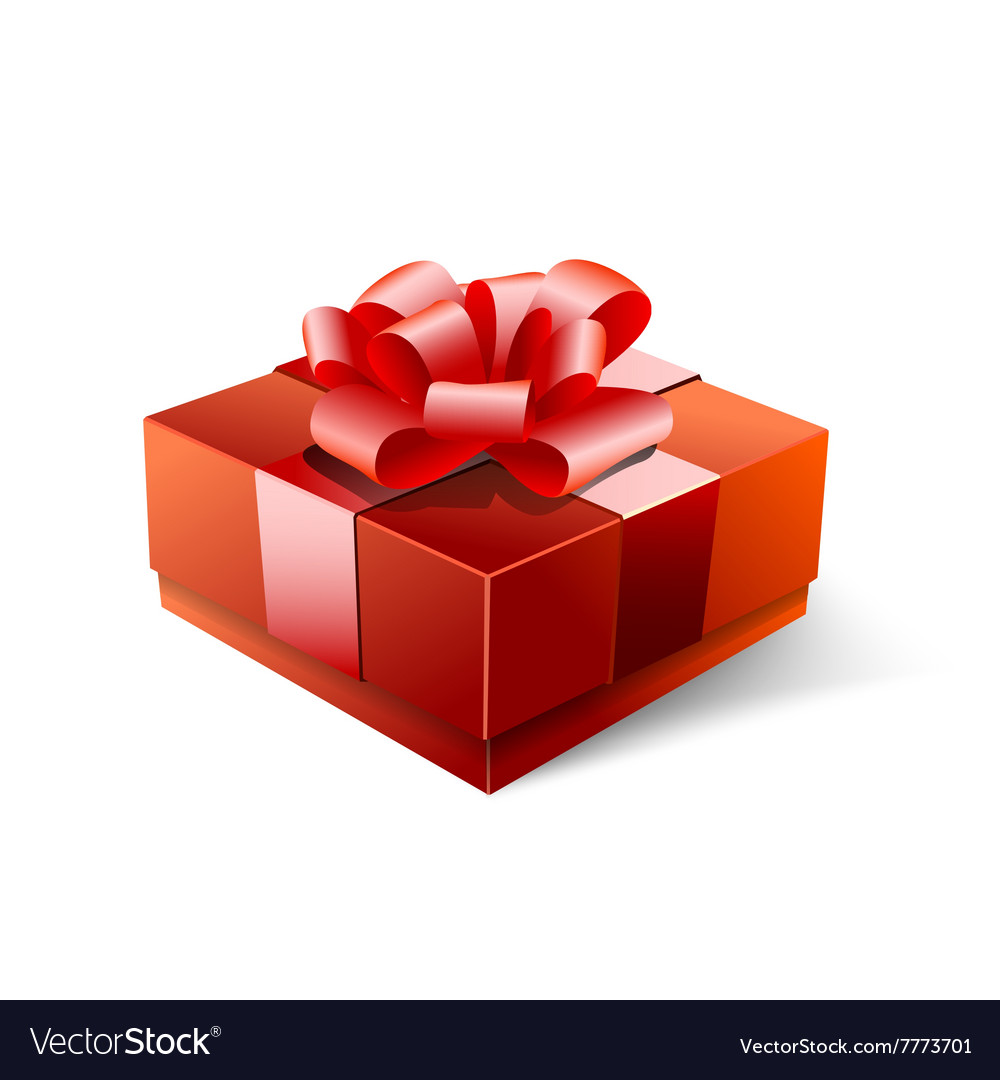 Happy Valentines Day Gift Royalty Free Vector Image