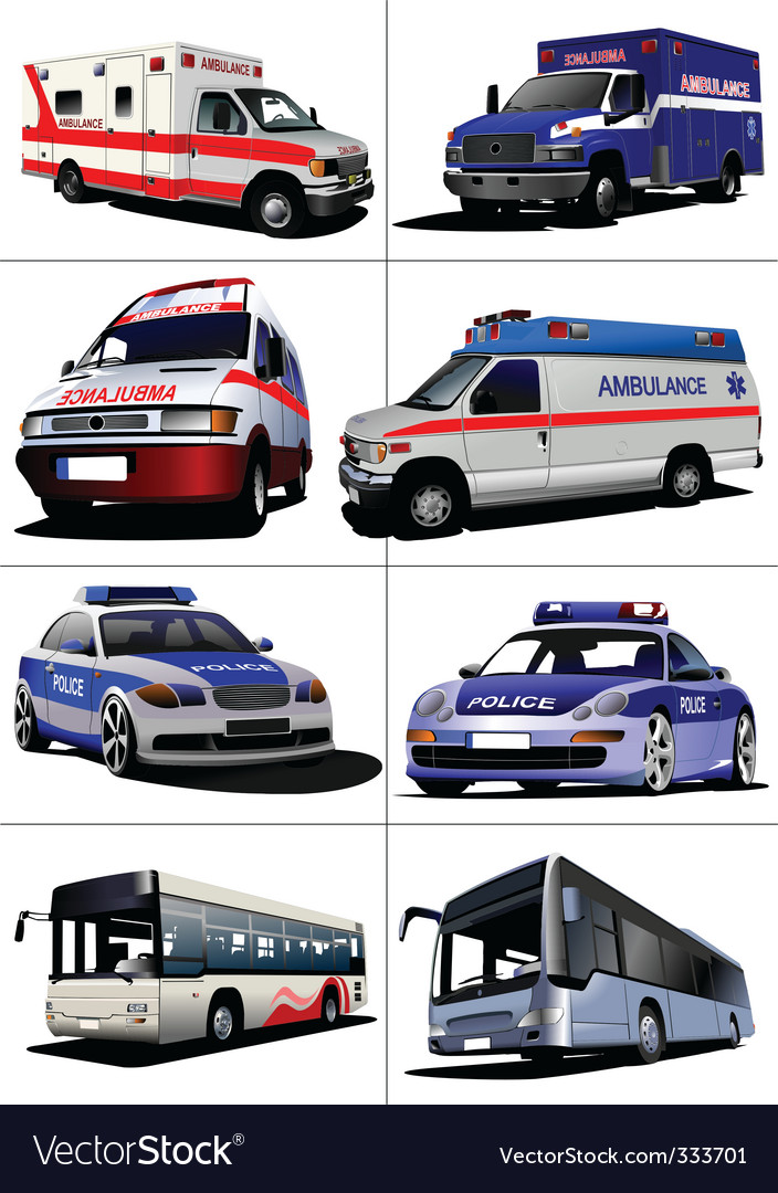 Municipal transport vector image