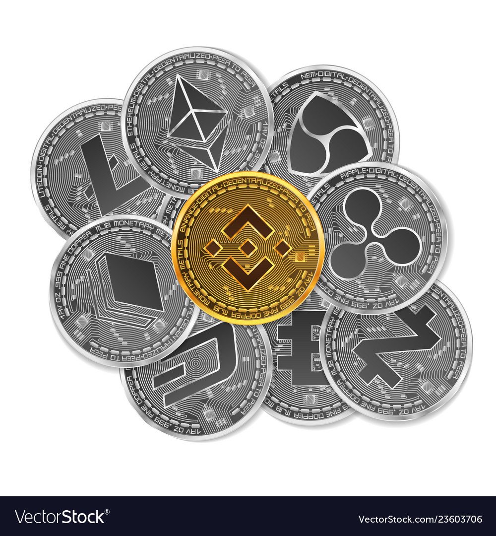 Set gold and silver crypto currencies