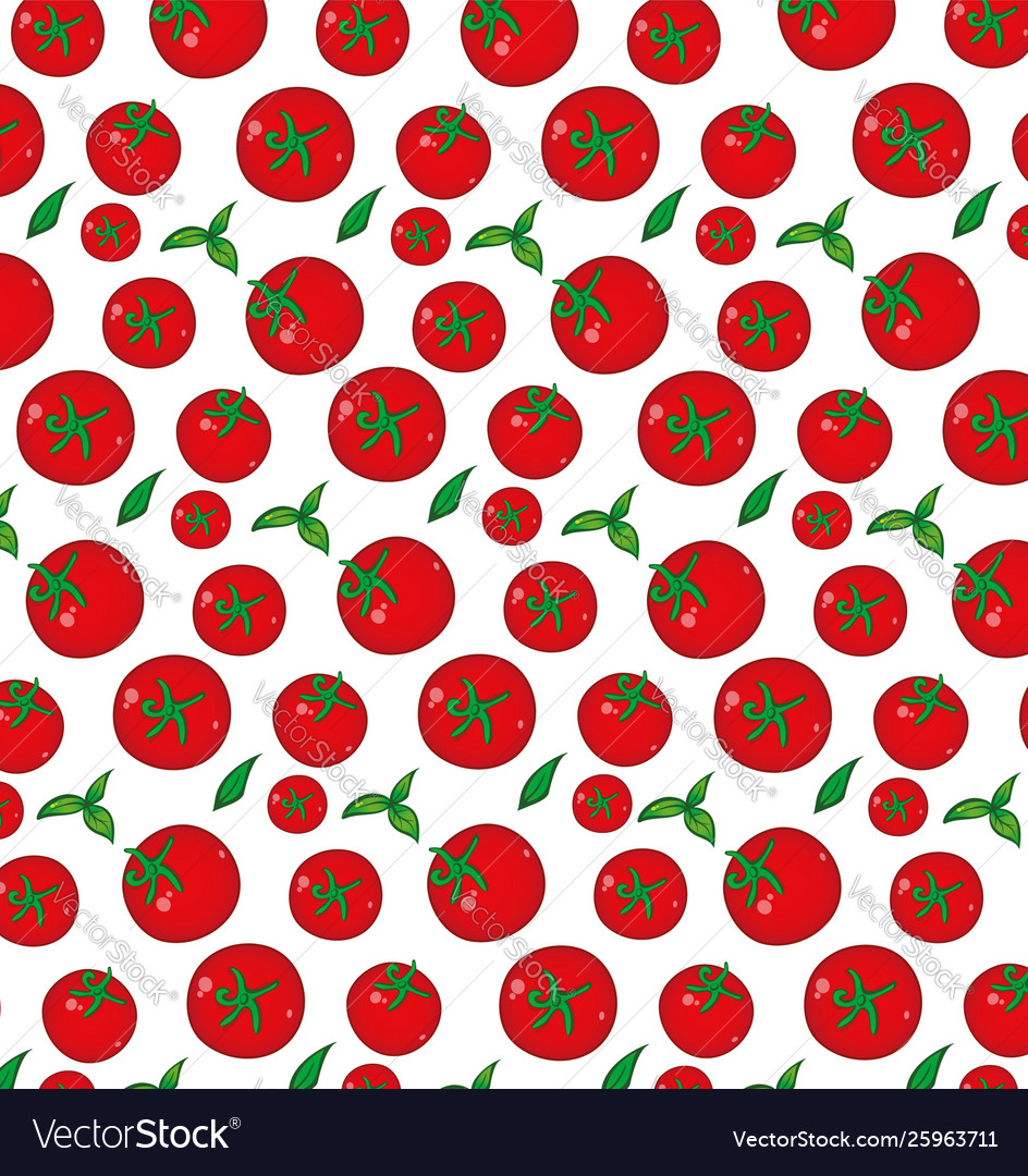 Tomato pattern background