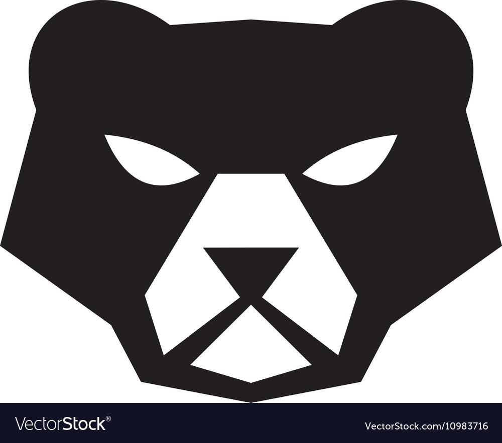 d7055fdbac512 American black bear head retro royalty free vector image jpg 1000x884 Retro  bear