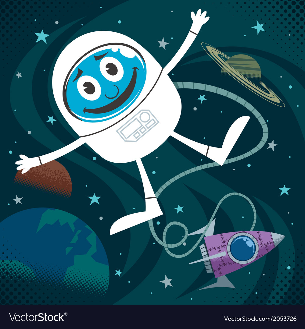 Space Fun vector image