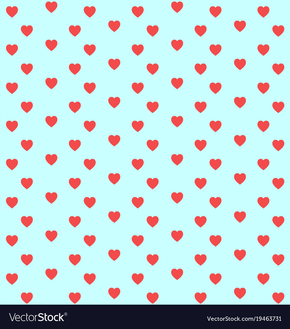 Hearts pattern for valentines day background