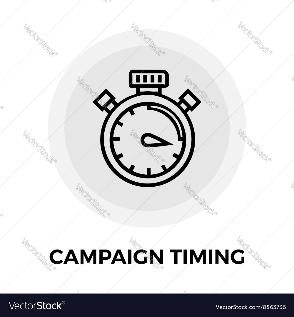 Campaign Timing Icon