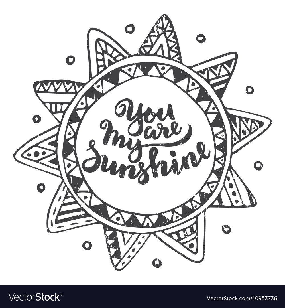 Romantic Sunshine Quote Vector Images 71