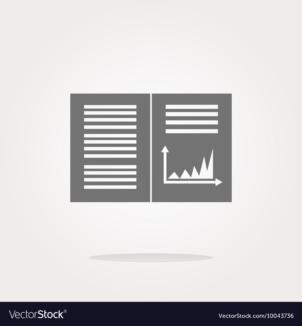 Text file sign icon Add File document with chart