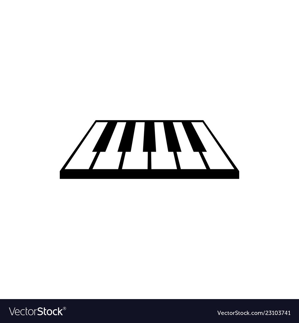 Peion Template | Piano Logo Graphic Design Template Royalty Free Vector Image