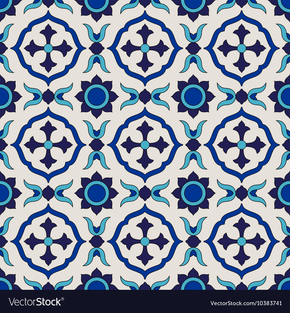 Seamless pattern Colorful ethnic ornament