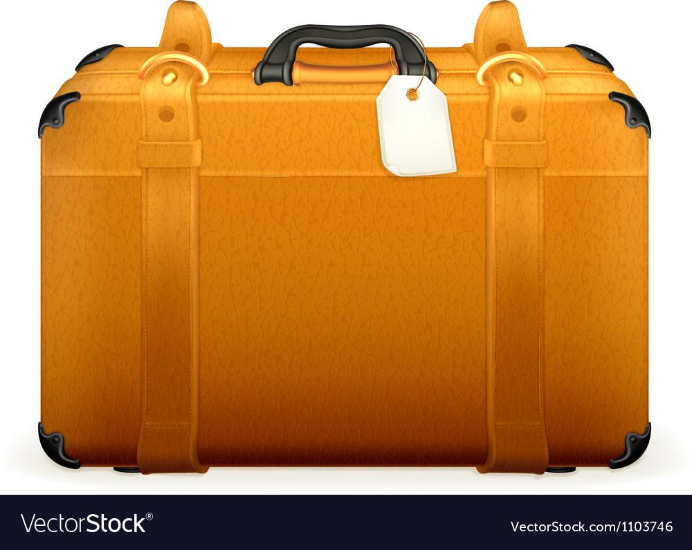 Baggage vector image