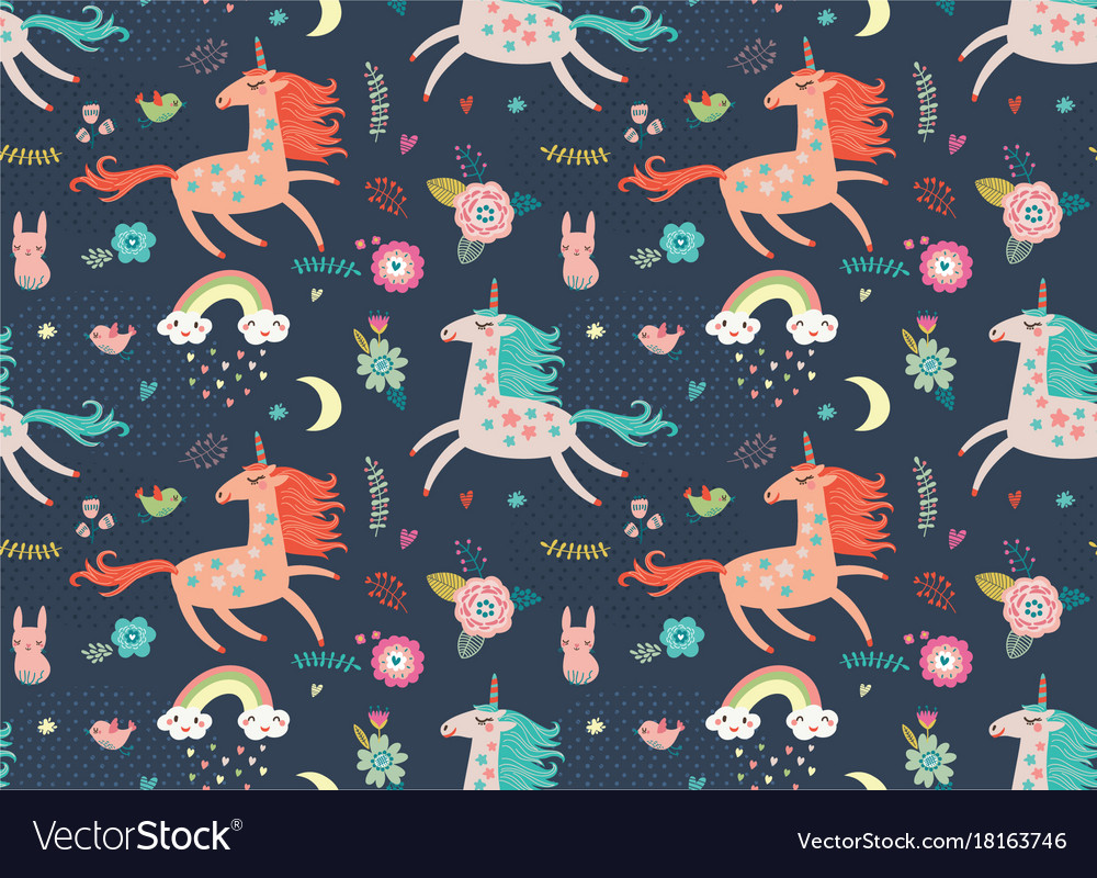 Unicorn Pattern Magnificent Inspiration Ideas