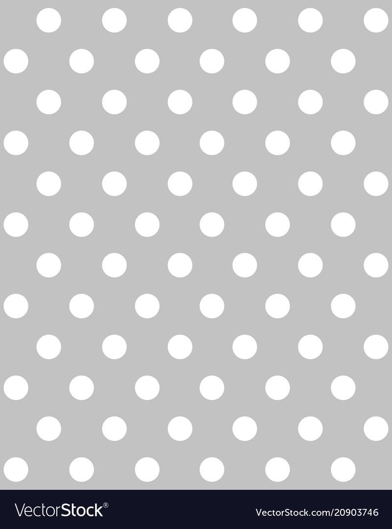 White circles seamless pattern