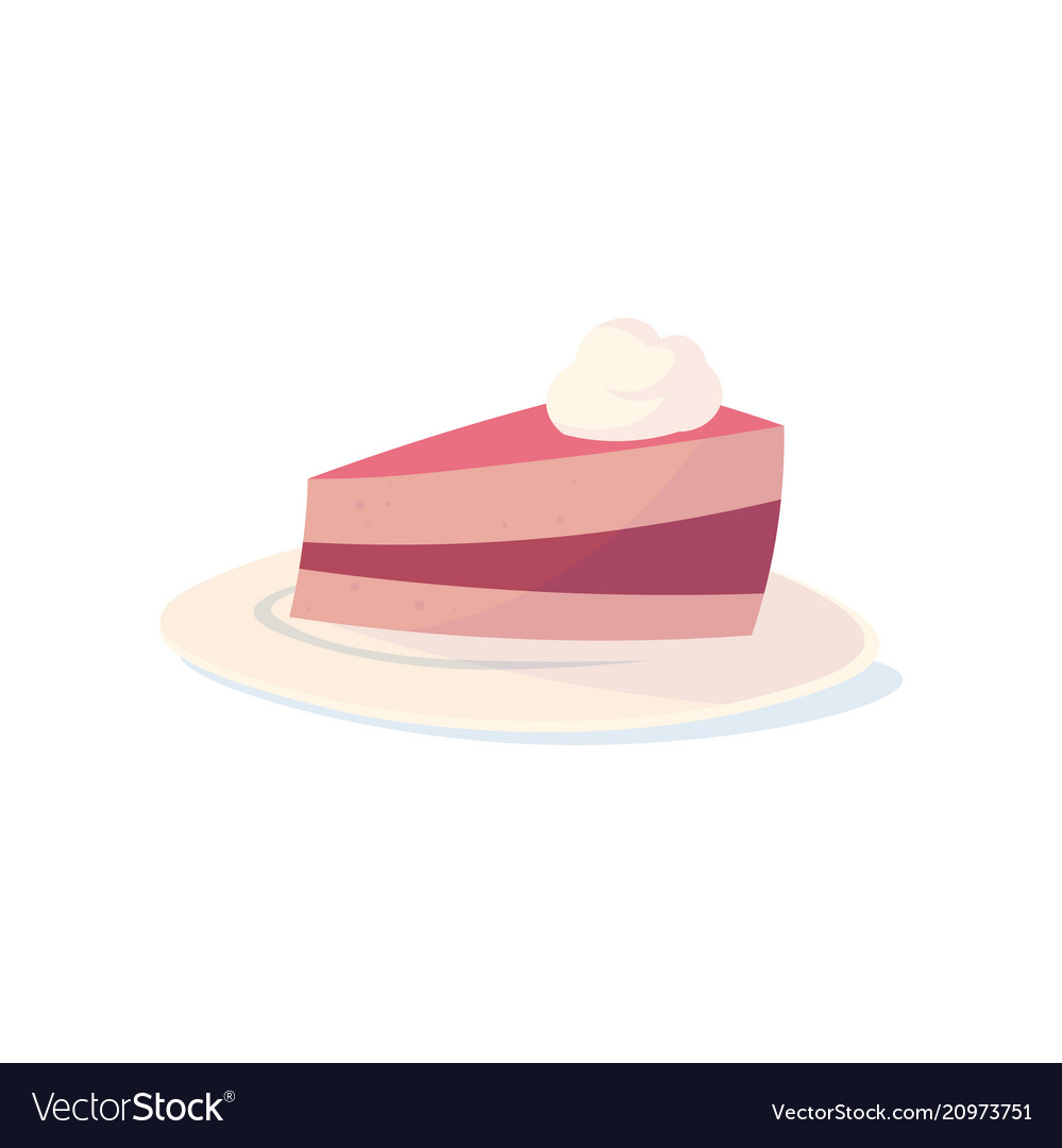All sweeties dream about cake with cherry